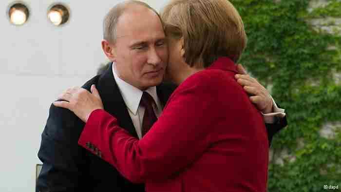 Меркель заявила, що не відмовиться від російського газу