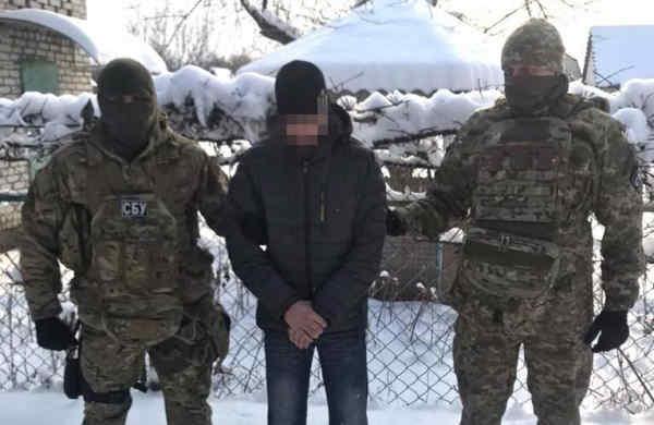 Співробітники СБУ затримали небезпечного шпигуна