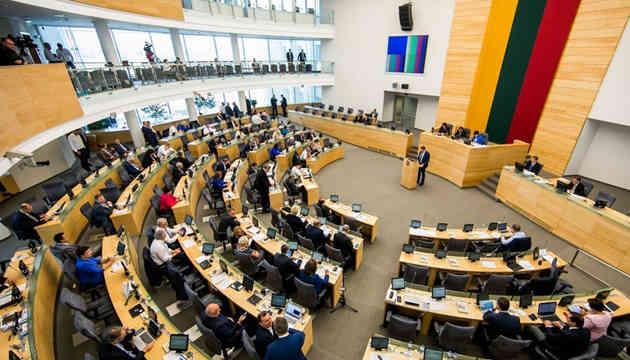 Сейм Литви засудив спроби Росії переписати історію