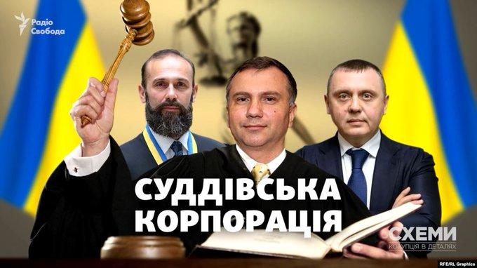 «Суддівська корпорація». Кругова порука замість верховенства права у Вищій раді правосуддя? (розслідування)