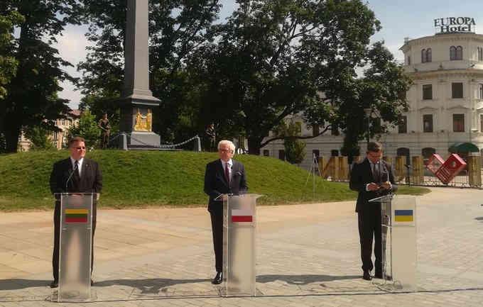 Україна, Польща і Литва домовилися про створення