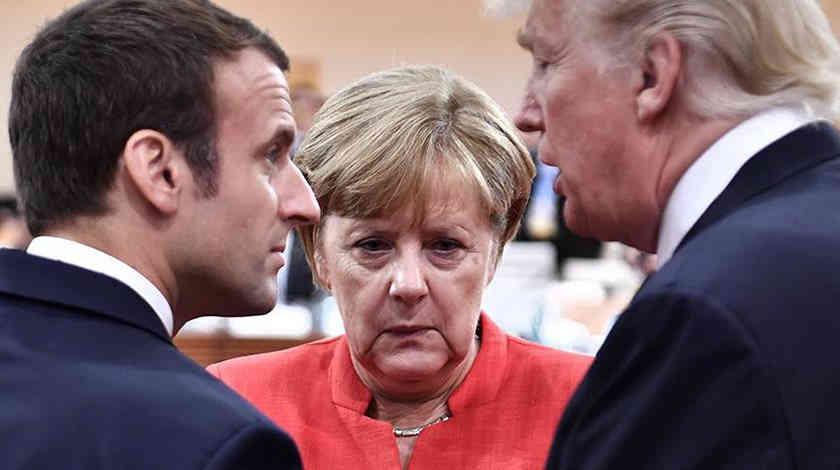 Меркель відповіла Макрону на заяву про