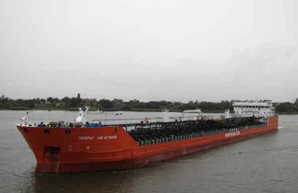 В Азовському морі стався вибух на російському танкері