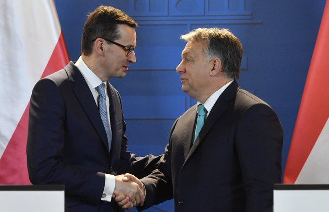 Угорщина і Польща заблокували бюджет ЄС і план порятунку економіки на 1,8 трлн євро
