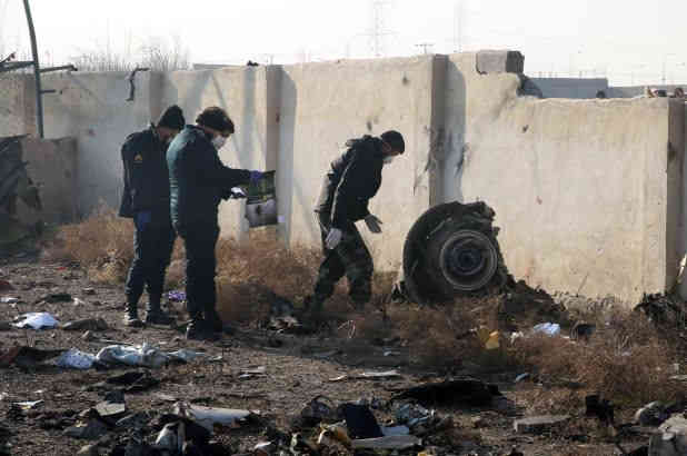 Іранські слідчі: частина даних з чорних скриньок літака МАУ втрачена