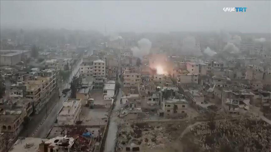 Авіація воєнного злочинця Путіна бомбардує Ідліб, сили Асада просунулись вперед