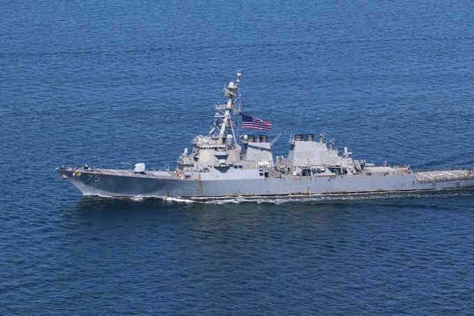Американський есмінець USS Donald Cook прямує у Чорне море
