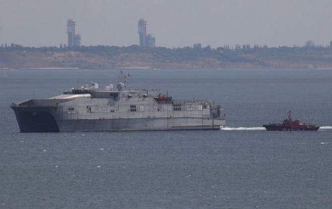 Експедиційний військовий корабель США зайшов в одеський порт