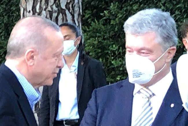 Петро Порошенко зустрівся з президентом Туреччини Ердоганом