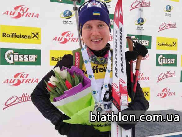 Україна здобула другу медаль за день в рамках біатлонного Кубку IBU