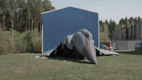 Тим часом в країні Рукожопії: В Пермському краї на Московії у повітрі загорівся МіГ-31