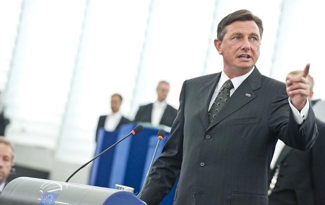 Президент Словенії запропонував ЄС надати Україні