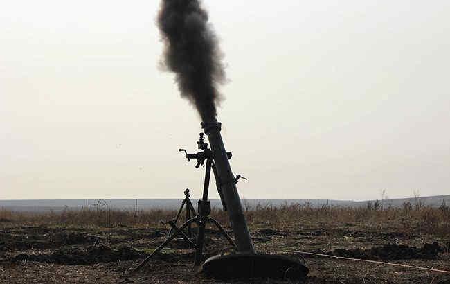 Російські окупанти обстріляли захисників Луганського з мінометів - двічі від початку доби