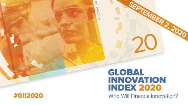 Україна – на 45 місці у Глобальному рейтингу інновацій
