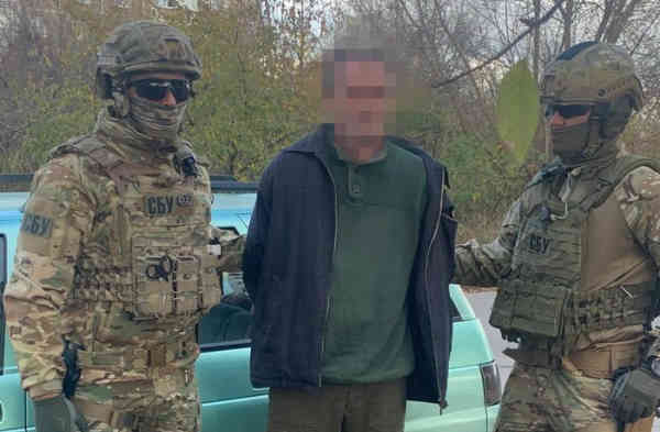 Контррозвідка СБУ затримала агента ФСБ РФ під час отримання секретних документів військового характеру