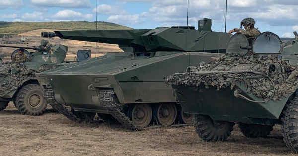Rheinmetall провів показовий виступ сучасної бойової машини Lynx KF41 під час навчань НАТО Brave Warrior в Угорщині