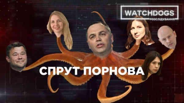 Віртуозний ляльковод із талановитими учнями: Watchdogs.Розслідування викрили вплив Портнова на українську Феміду