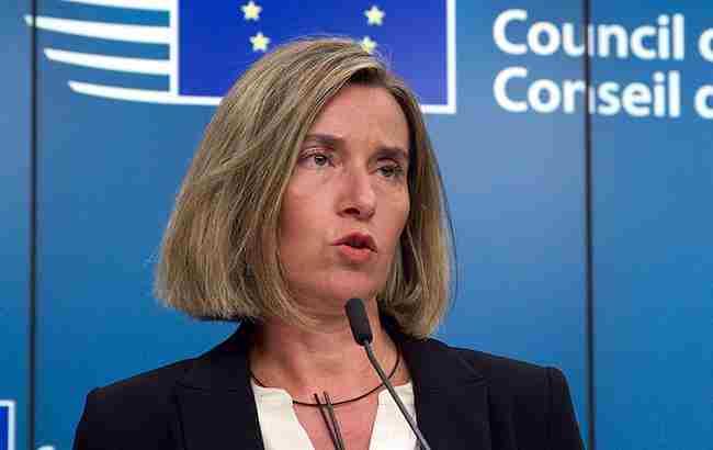 Отруєння Скрипалів: Могеріні прокоментувала євросанкції проти росіян