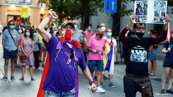 В Іспанії почалися протести проти монархії та за перехід до республіки
