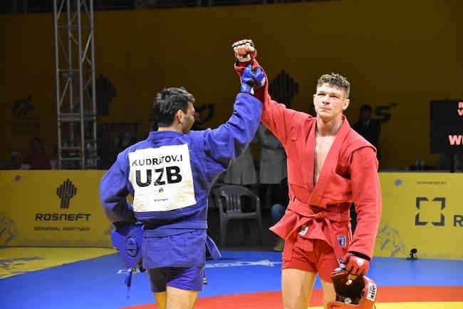 Українець Владислав Руднєв став чемпіоном світу з самбо
