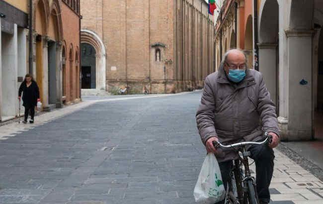В Італії за день від коронавірусу померли майже півтисячі людей