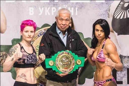 Українка Олена Овчинникова стала чемпіонкою світу WBC з тайського боксу