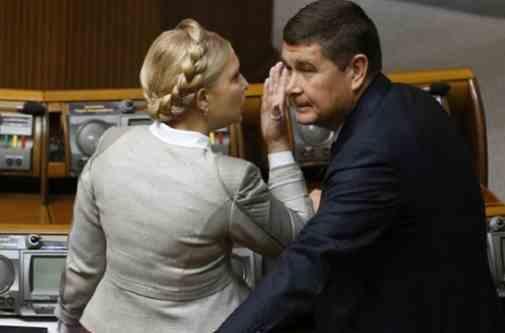 У Раді пояснили, чому Онищенко фінансує виборчу кампанію Тимошенко