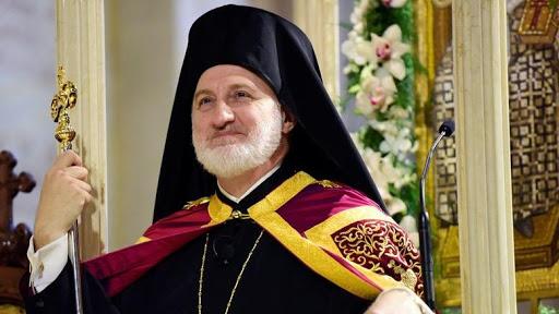 Архієпископ Елпідофор: Звільнити український народ від важкого «захисту» Росії було історичною необхідністю