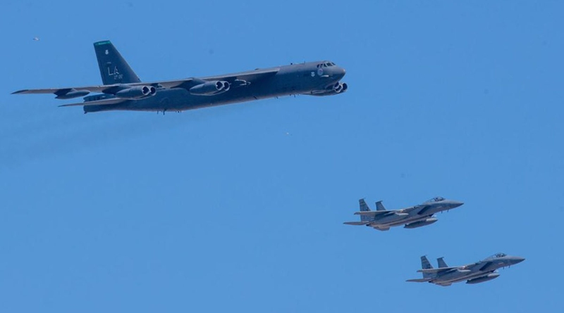 «Конвенциональное воспитание»: зачем американские «бомбовозы» зачастили в акваторию Черного моря
