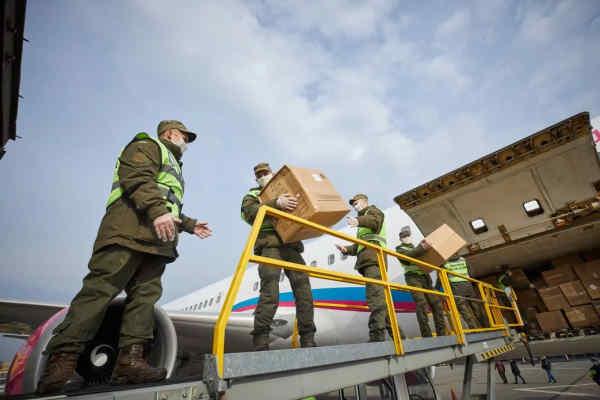 До України прибув другий гуманітарний вантаж з Китаю