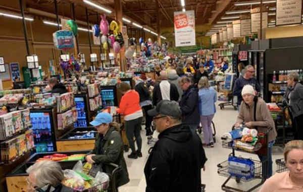 В Італії через карантин люди почали красти їжу у супермаркетах
