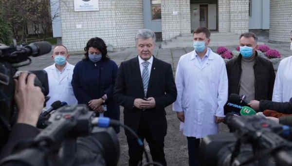 Львівський обласний госпіталь отримає кисневе обладнання від Фонду Порошенка